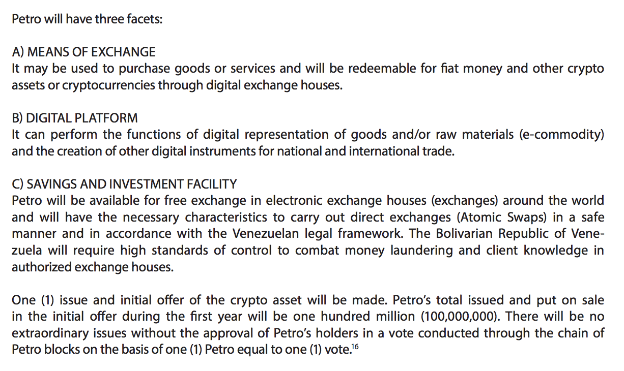 A Review Of Petro Ptr Venezuelas Proposed Cryptocurrency