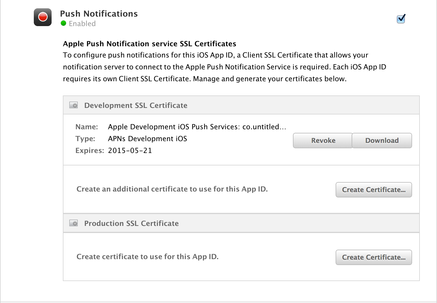 How To Generate Pem For Push Notifications Blog Untitled