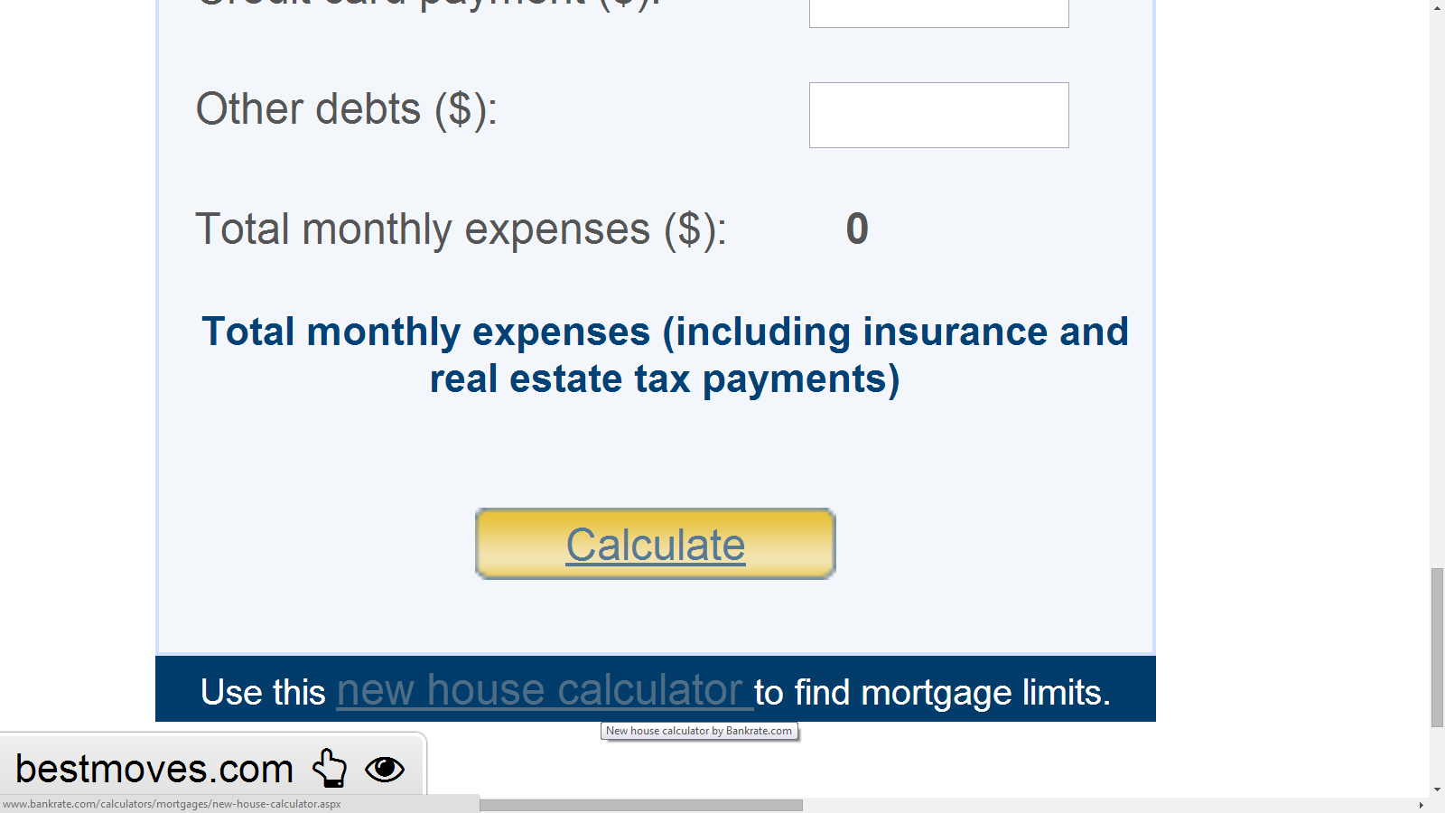 Perfect See The Anchor Text For The Widget. Mortgage Calculator Anchor Text  Do Follow
