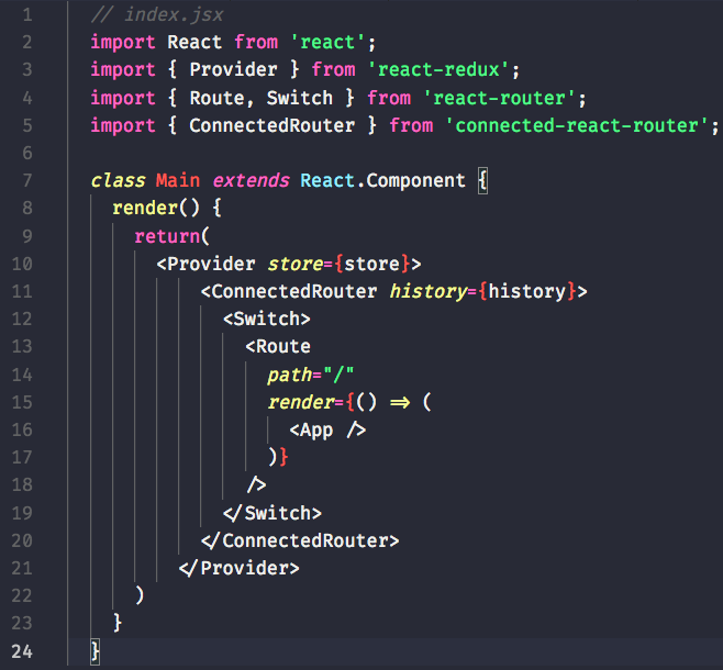 react router dom switch