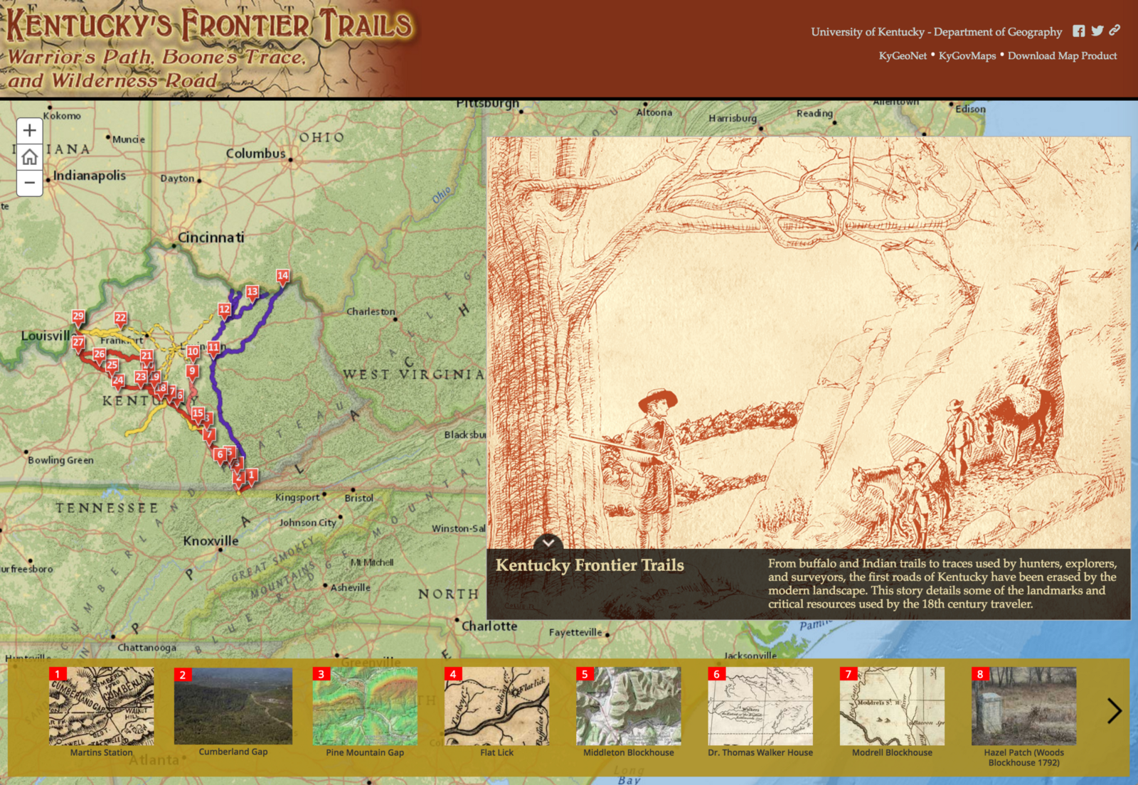 An introduction to hosting your own Story Map on map description, map features, map artist, map illustrator,