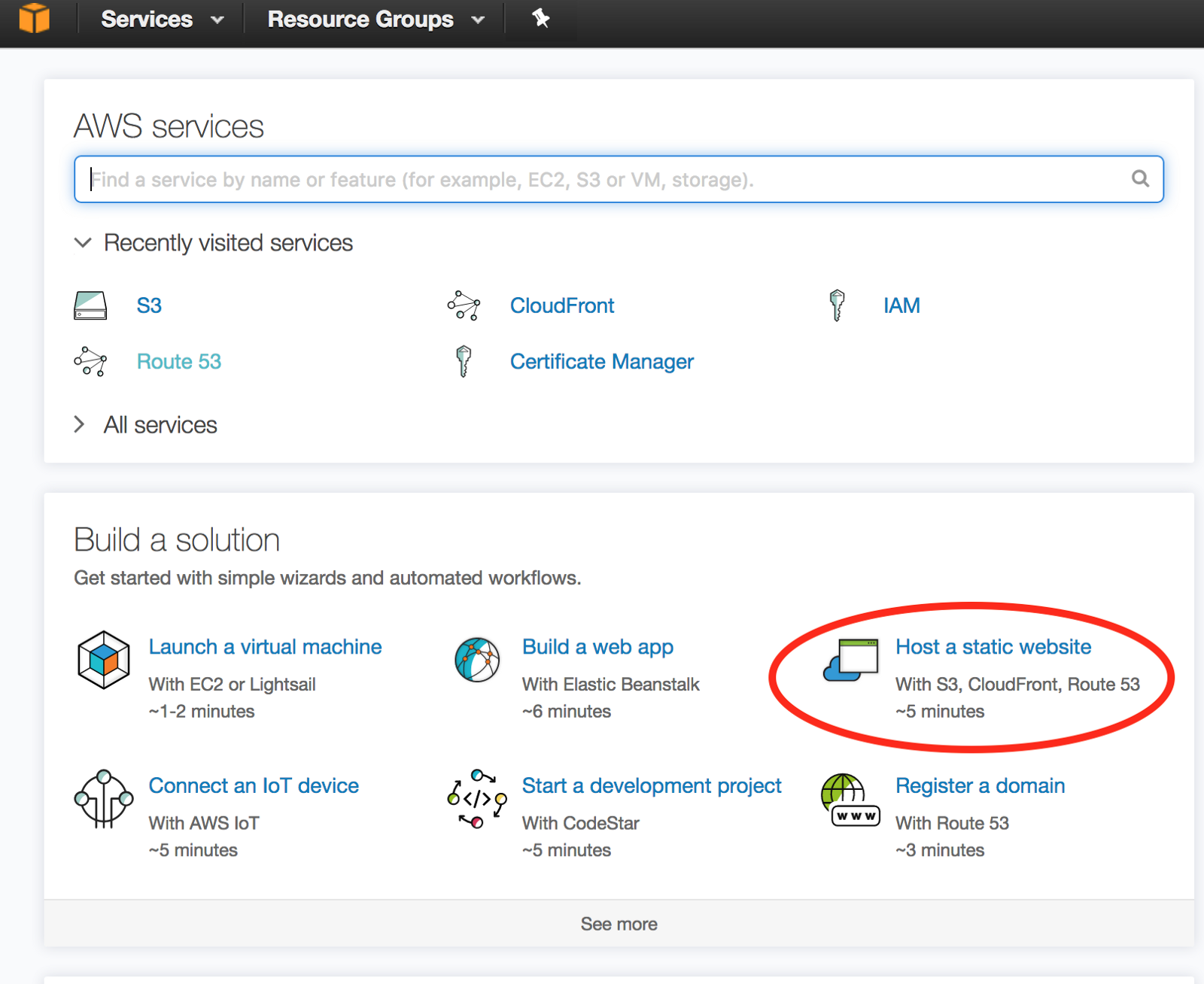 Aws berslings blog step 1 host website with aws cloudfront xflitez Images
