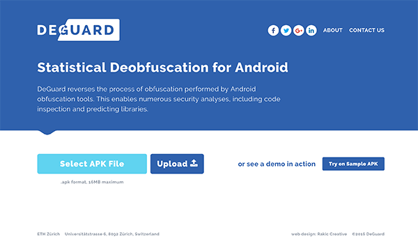 Top 30 Android Tools - #29 APK DeGuard