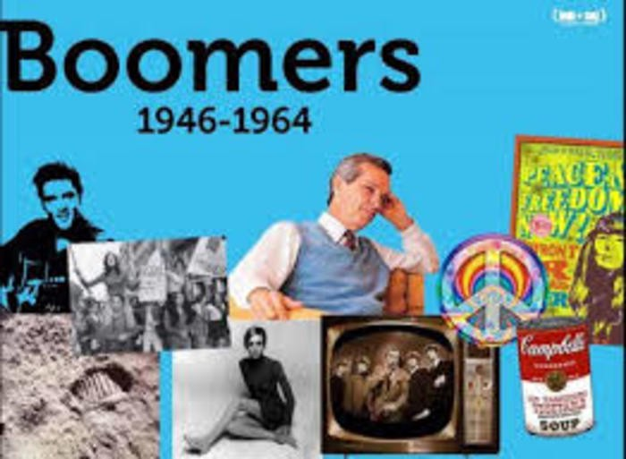 The Baby Boomer Years Theme: 1946-1964 - Aging In Beauty ...