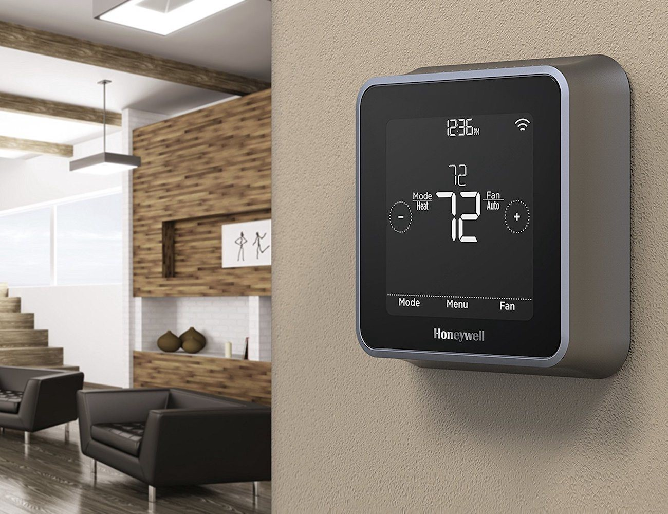 smart thermostats for a cozy life at home gadget flow medium. Black Bedroom Furniture Sets. Home Design Ideas