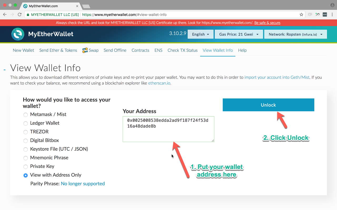 How To Add Token To Myetherwallet How To Look At A Paper Wallet Balance