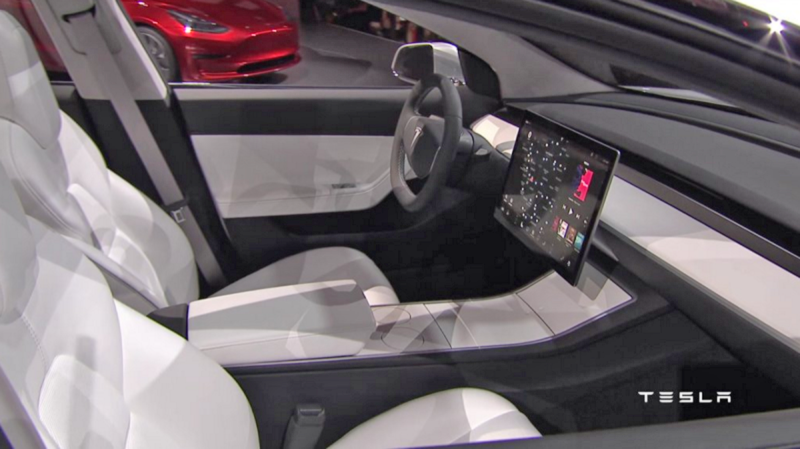 Model 3 Could Be Something Tesla Doesn T Want To Announce Yet The Answer Is In Its Interior Kind Of Car Has Ever Looked Like This On Inside