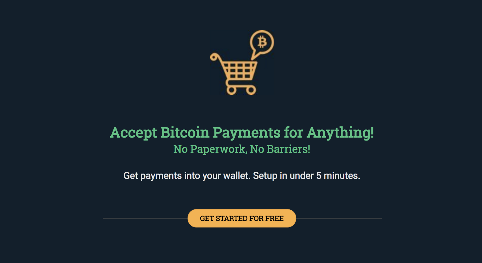 Get free bitcoin donations
