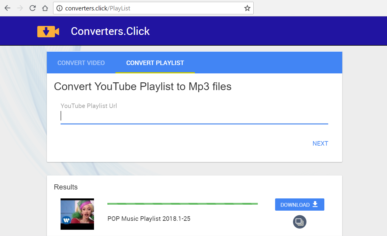 download youtube playlist mp3