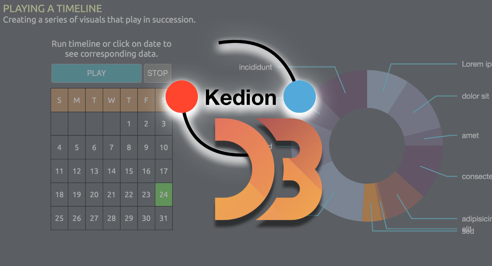 Combining D3 With Kedion Graduating From Toy Visuals To Real Block Diagram Jquery Applications