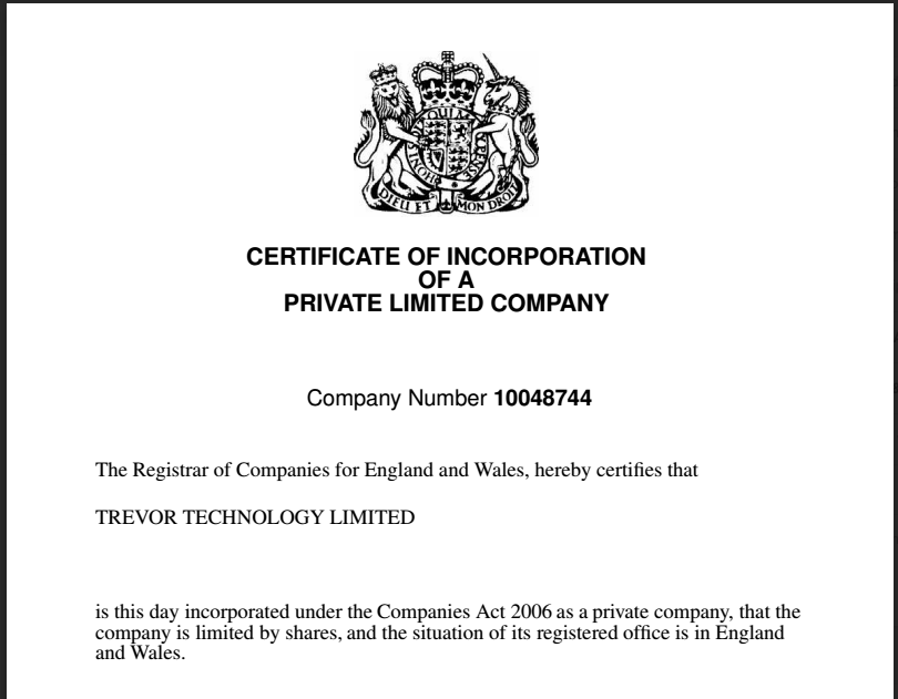 what is the legal entity of a company