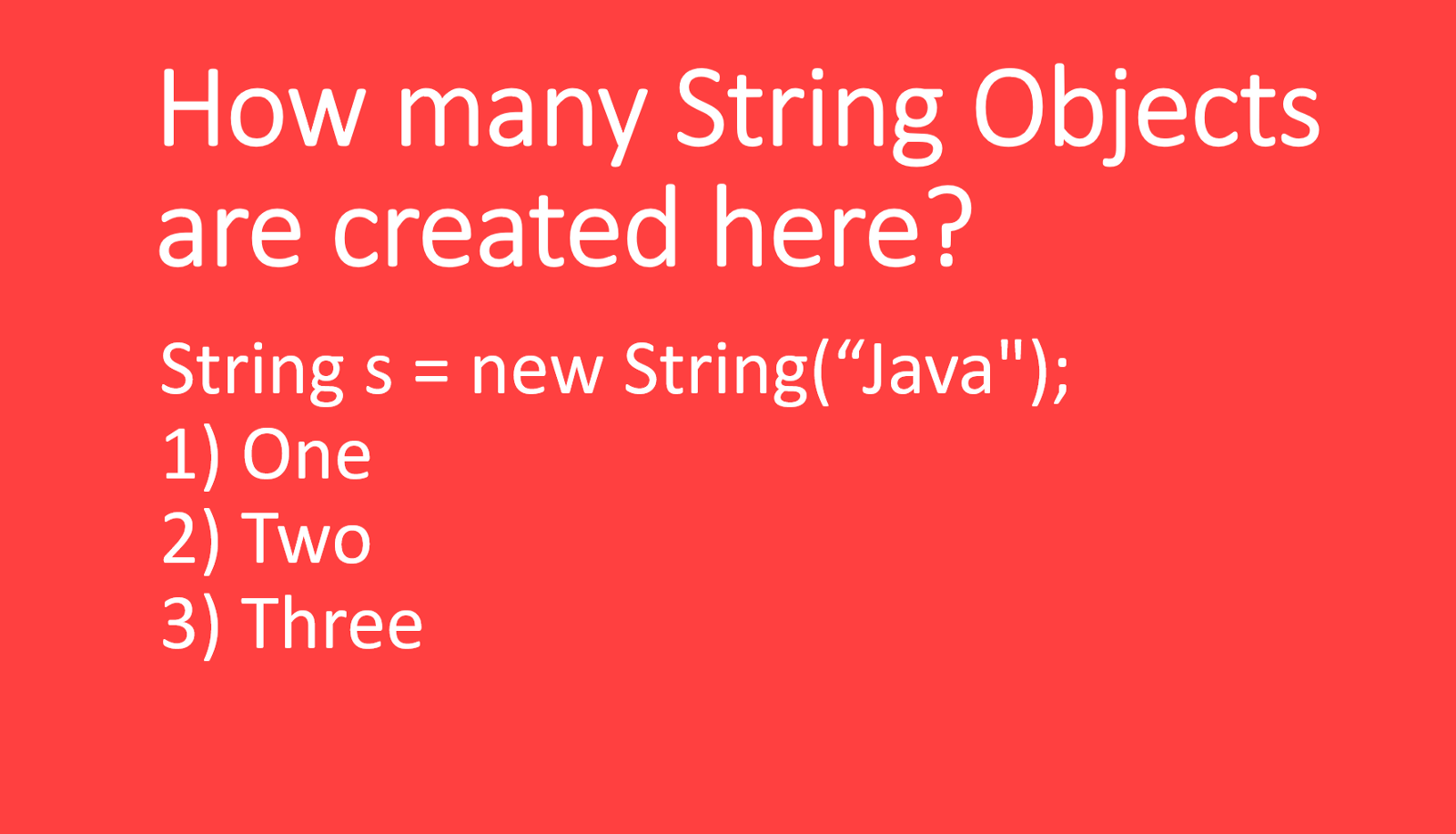 Review these 50 questions to crack your Java programming