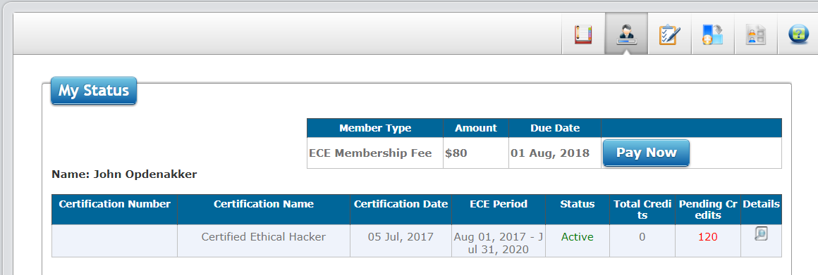 How To Renew Your Ceh Or Any Other Ec Council Certificate