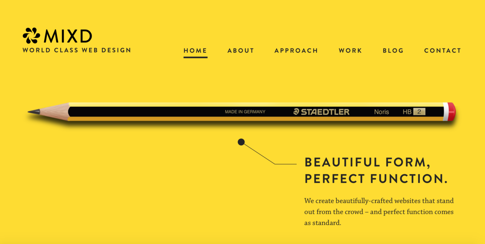 Functional minimalism for web design ux planet for Minimalist homepage