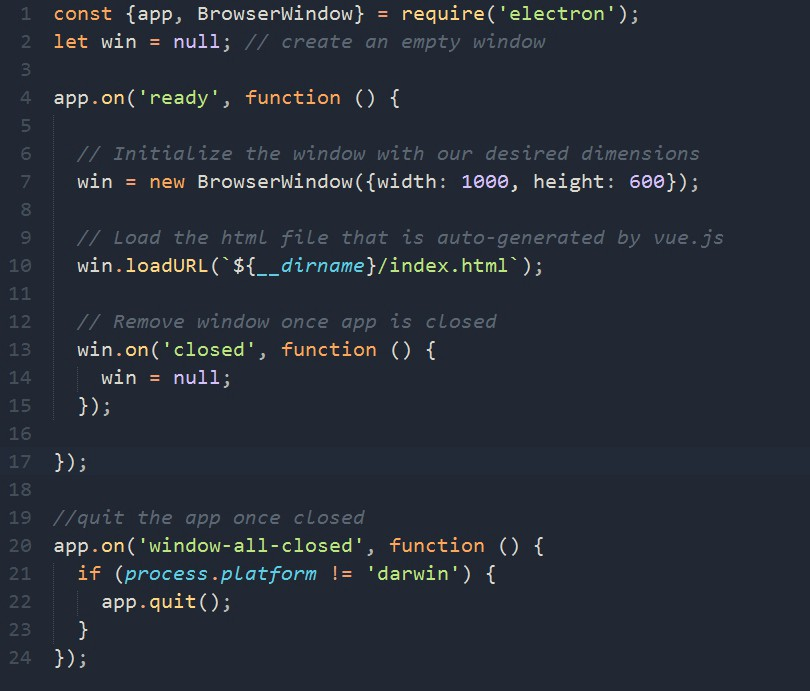 The Making Of A Wallpaper Changing App With Electron And Vuejs