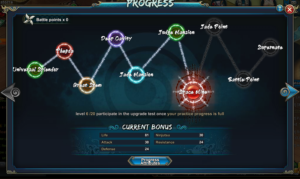 Spend All The Point Avaible For Progress This Will Increase A Lot Your Power Points