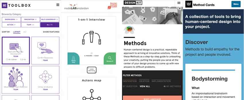 Solving design problems: finding UX tools, methods, and activities