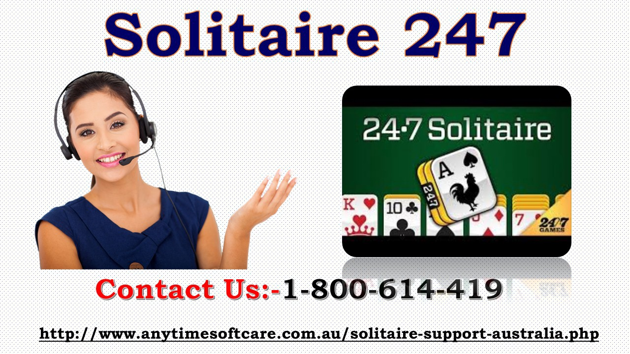 Learn About Solitaire 247 Game Via 1–800–614–419 | New South Wales