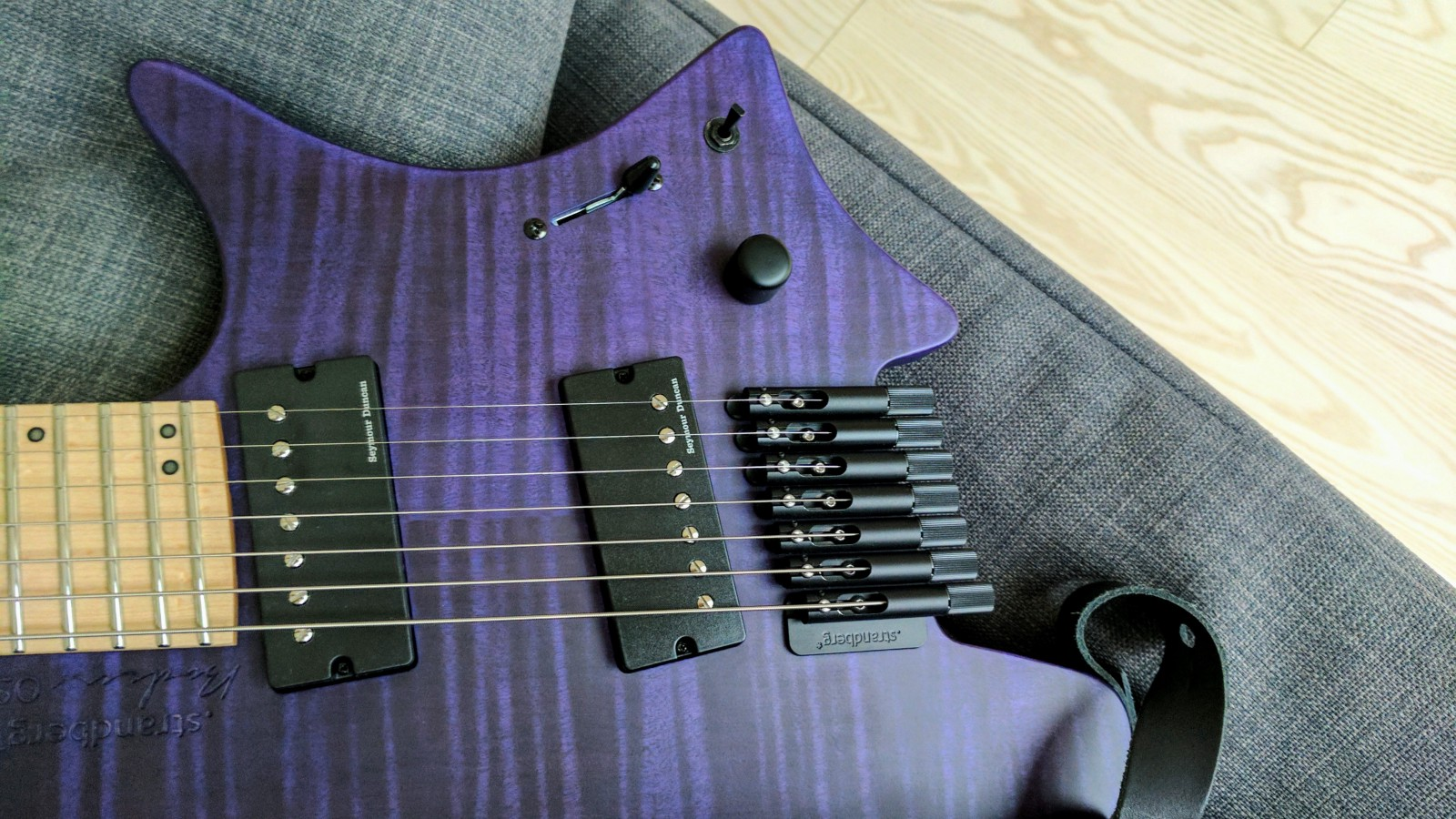 Strandberg Boden Os7 My Perfect Guitar Denis Rechkunov Medium 3 Way Switch Wiring Diagram Blade Sentient And Nazgul Pickups Volume Knob Coil Split