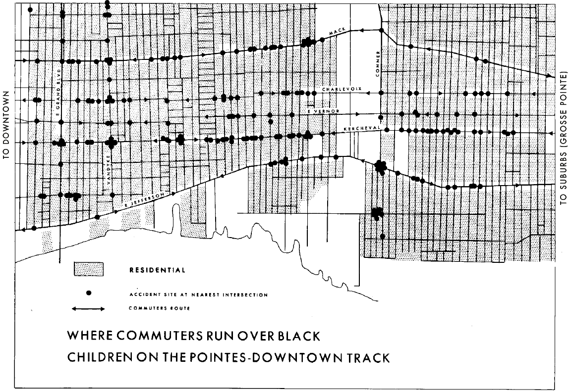 What Would Feminist Data Visualization Look Like Catherine D Delta Kite Diagram Heading Quotsample Chartquot Geography Of The Children Detroit By Geographical Expedition And Institute 1971 Warren Her Colleagues Used This Map Overall