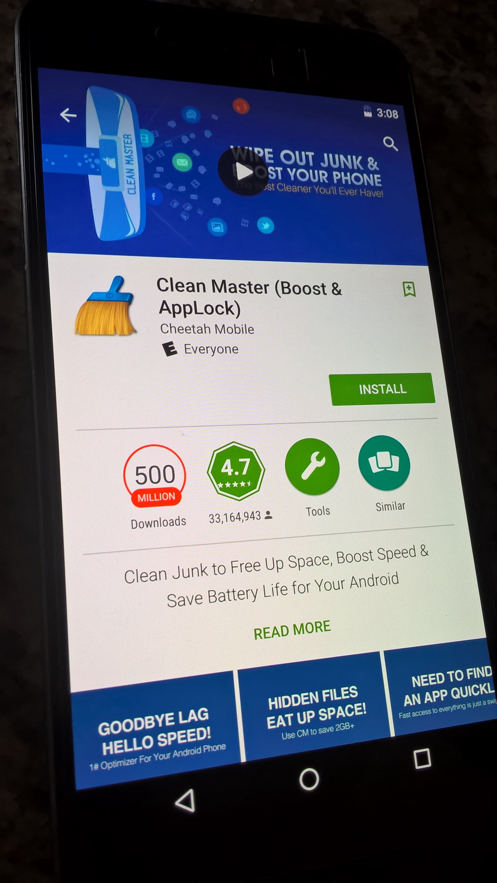 download clean master- space cleaner & antivirus