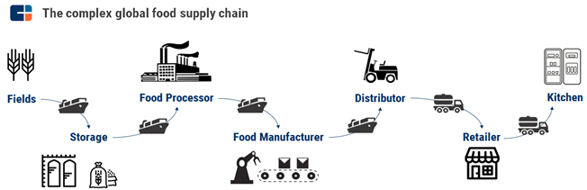 An Example Of The Food Supply Chain
