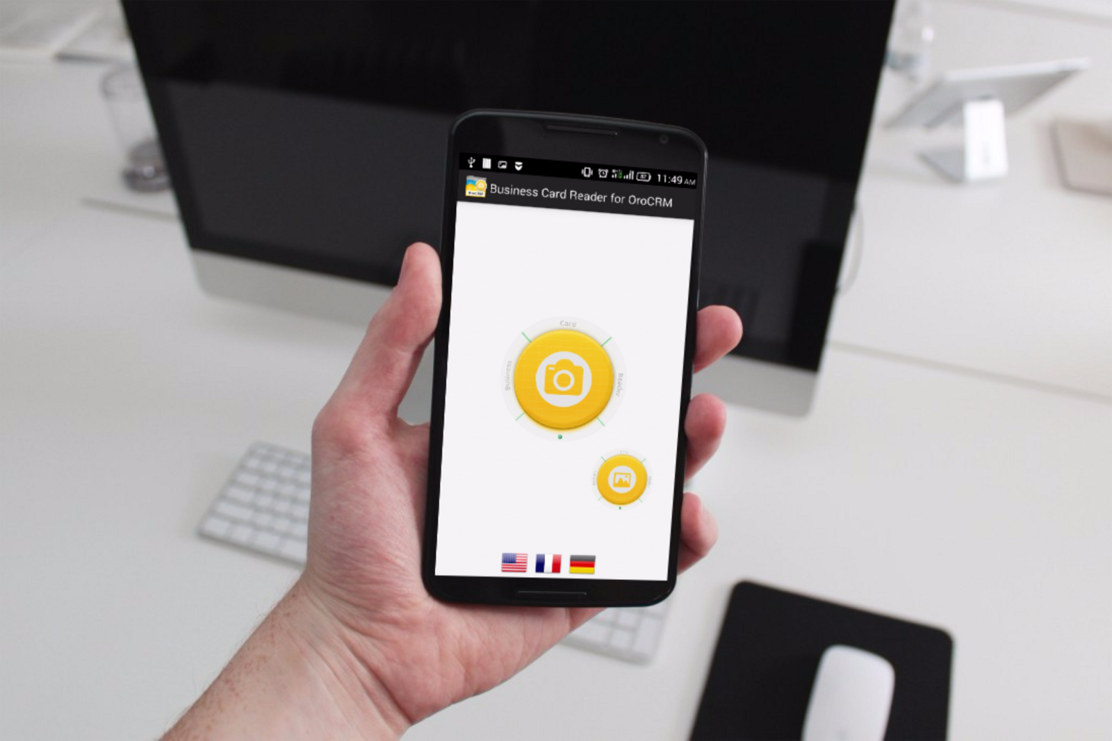 How to use business card reader for oro crm properly try free demo version of business card reader for oro crm now and youll be satisfied how it works colourmoves