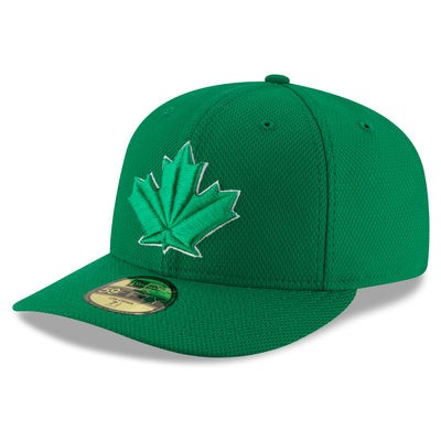 Men s Toronto Blue Jays New Era Green St. Patrick s Day Diamond Era Low  Profile 59FIFTY Fitted Hat 0ba528b40d38