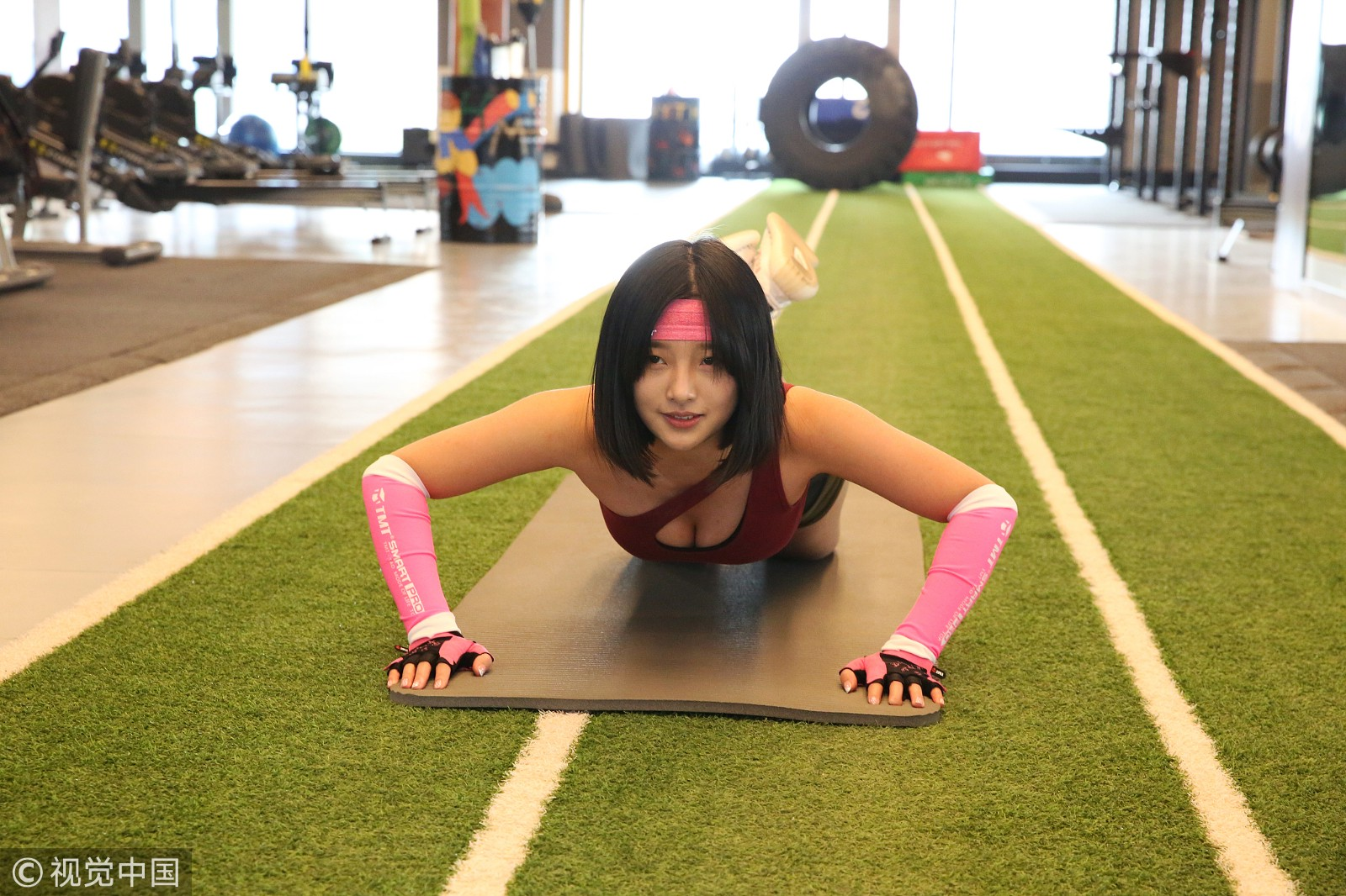 The young woman has said that she spends about six hours a day in the gym,  doing squats and lunges to perfect her posterior. She has claimed that  whenever ...