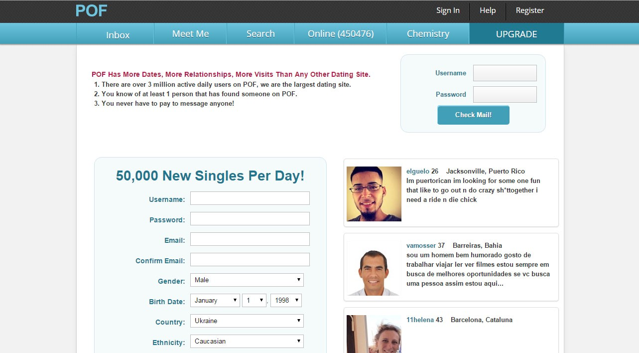 Free email check for dating websites