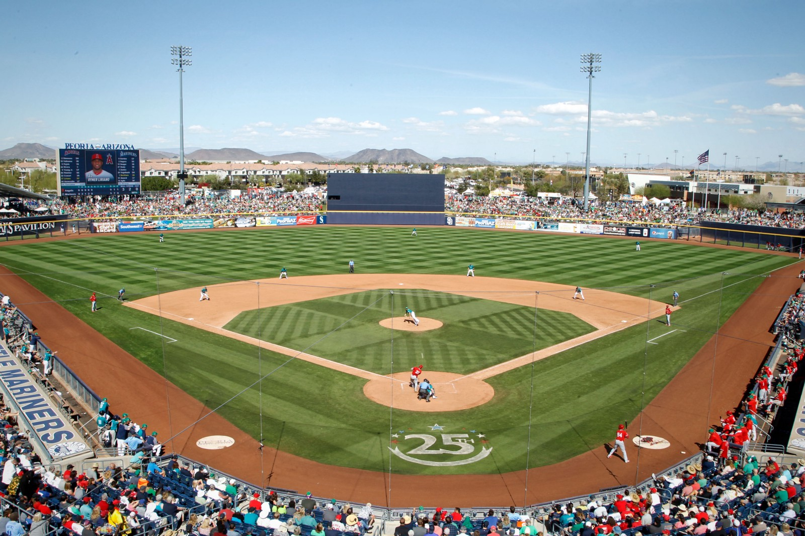 Mariners 2019 Spring Training Schedule Released From The Corner Of
