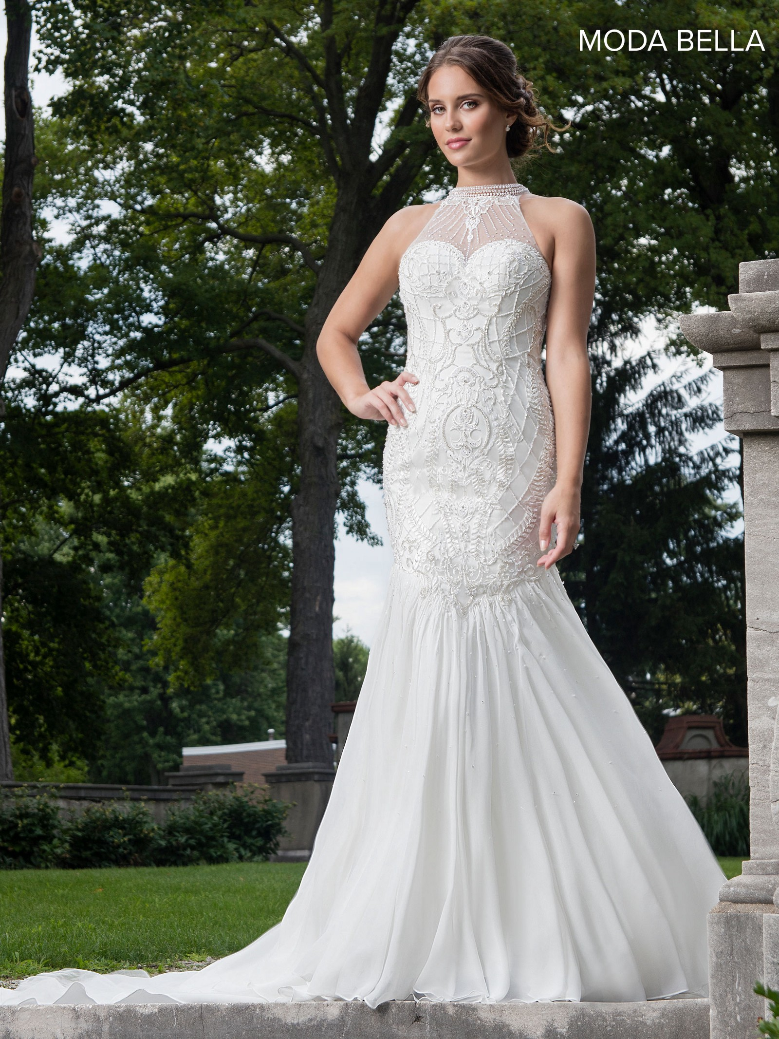 Modern and romantic Bridal gowns 2018 collection for beautiful brides!