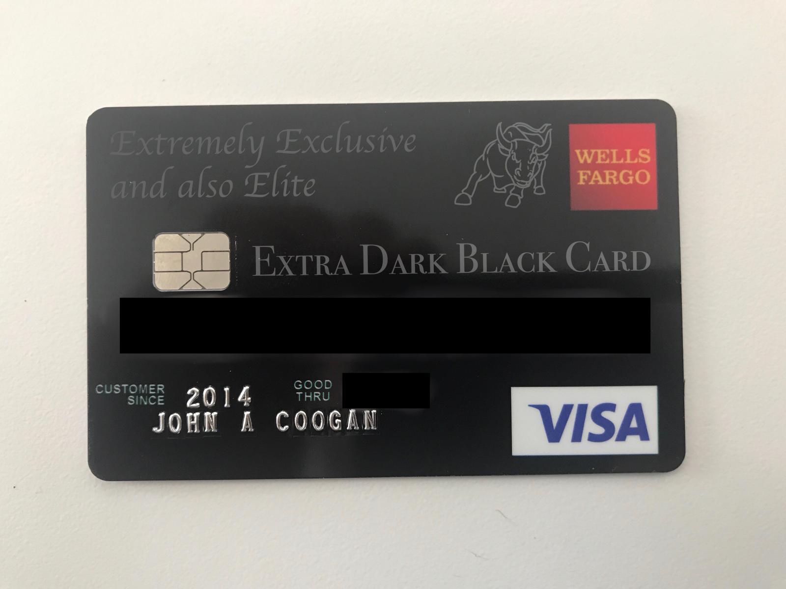 Best Credit Card Ever The Extra Dark Black Card John Coogan