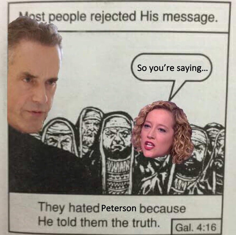 1*t4F7Rd0p48cd QdDOK0uJg 25 memes that sum up jordan peterson vs cathy newman