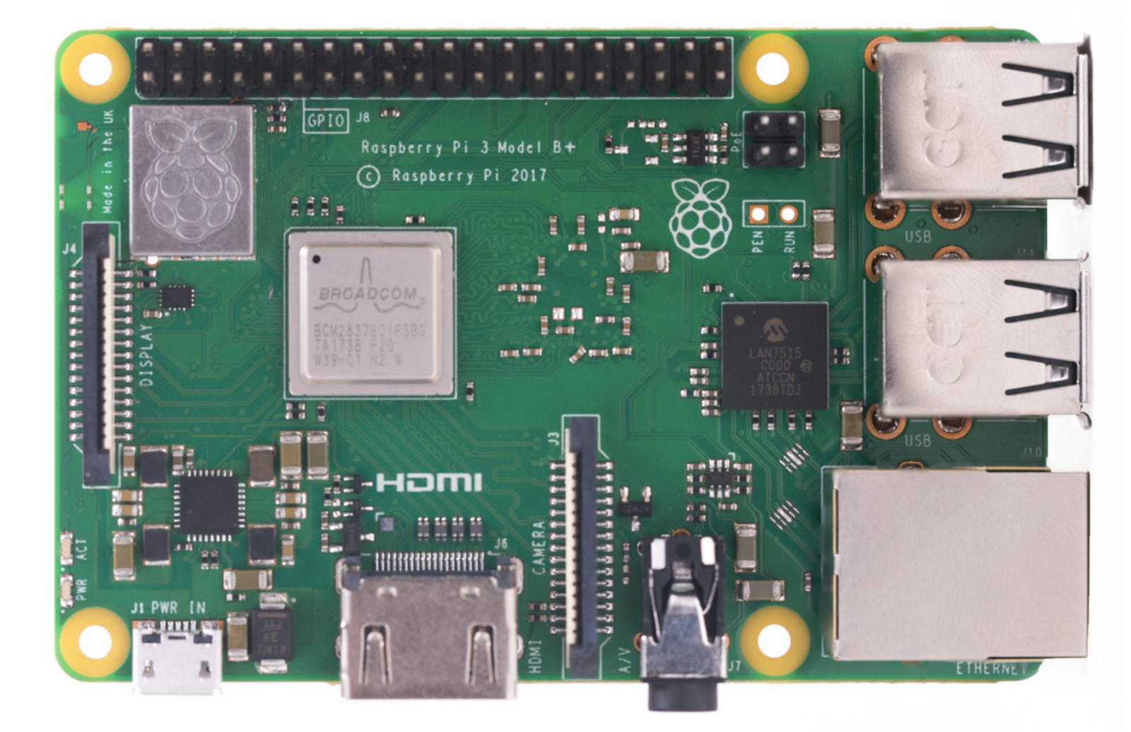 Meet The New Raspberry Pi 3 Model B Hackster Blog Projects Enabled Chr Element14 Top View Of Foundation