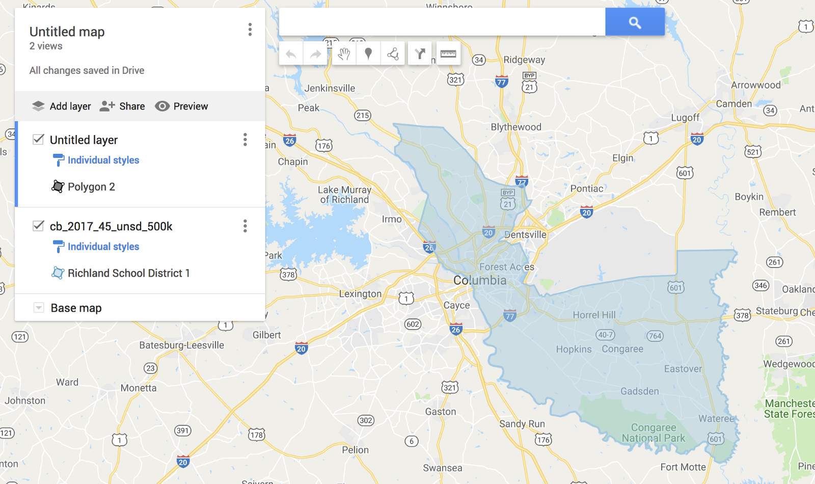 How to make custom maps for free with Google Maps – Adam Ragusea Google Maps Can on