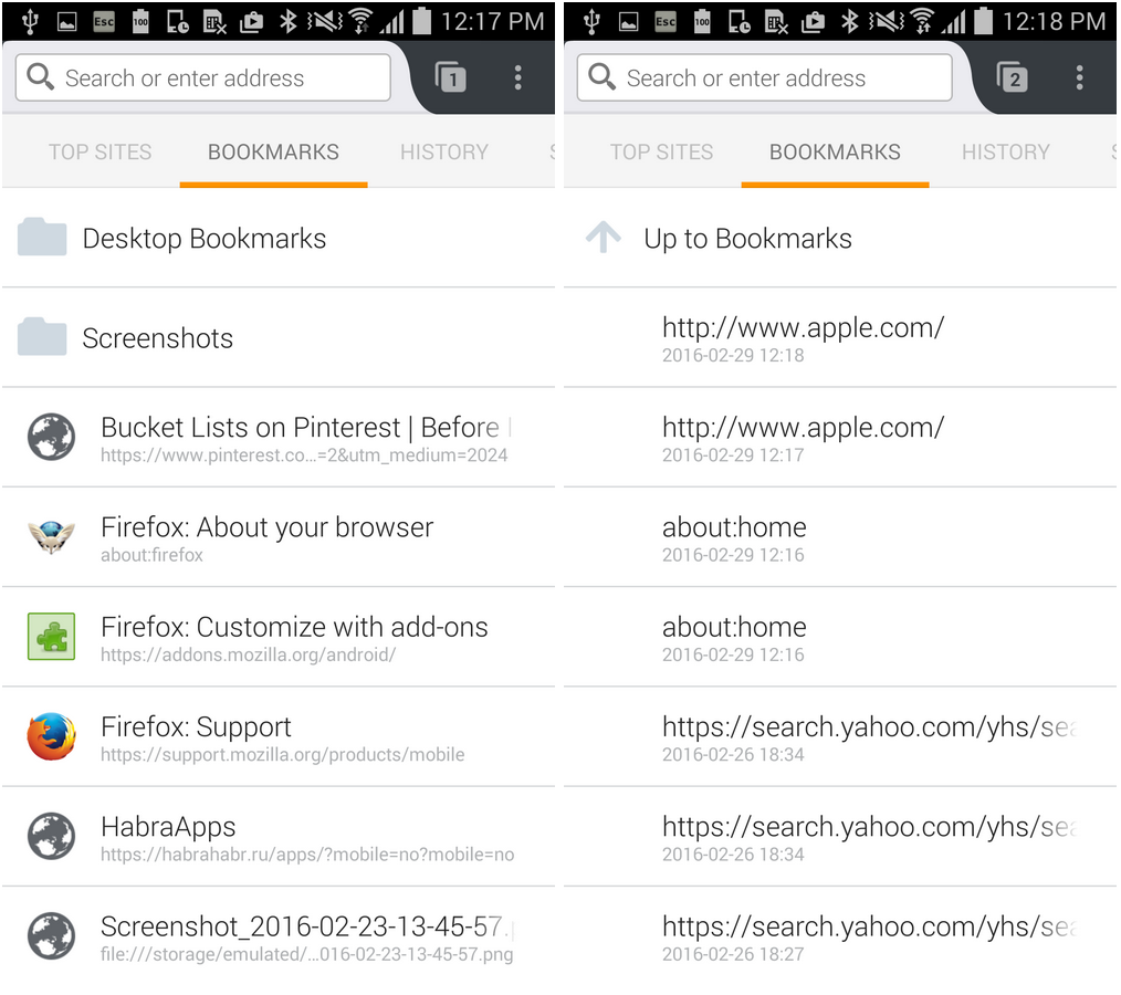 Firefox for Android Hack Week Recap – Firefox Mobile