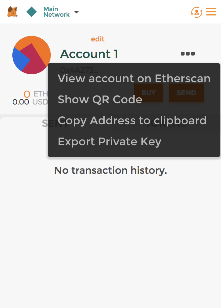 how to create a wallet in metamask