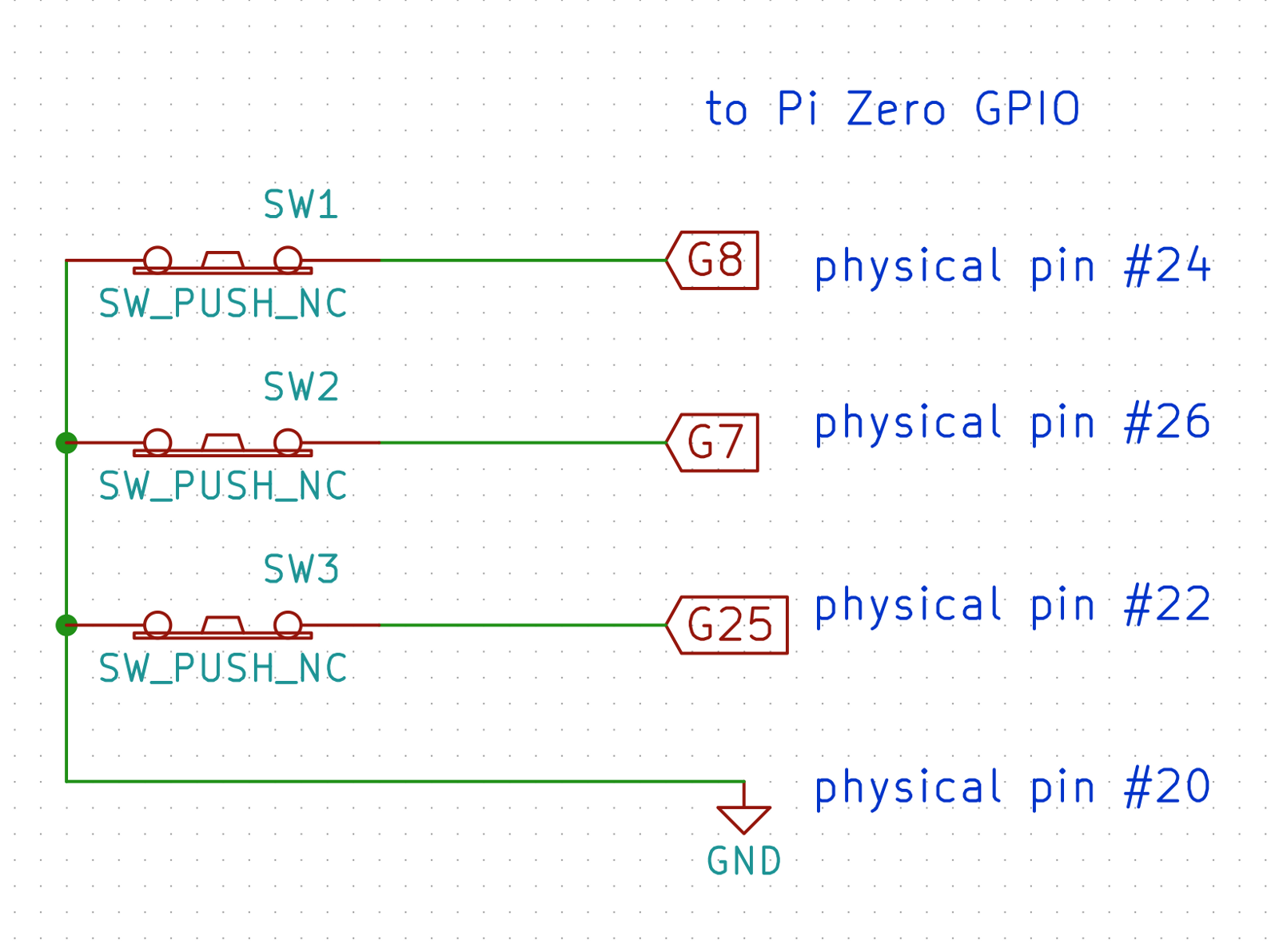 Interrupt Driven Contact Sensors With Homebridge And Raspberry Pi Gpio Debouncing Circuit In Switch Open Closed States The Switches Will Drive Low When Normally Not Pressed Float Opened Momentarily To Ensure A Logic Level 1 Is Read