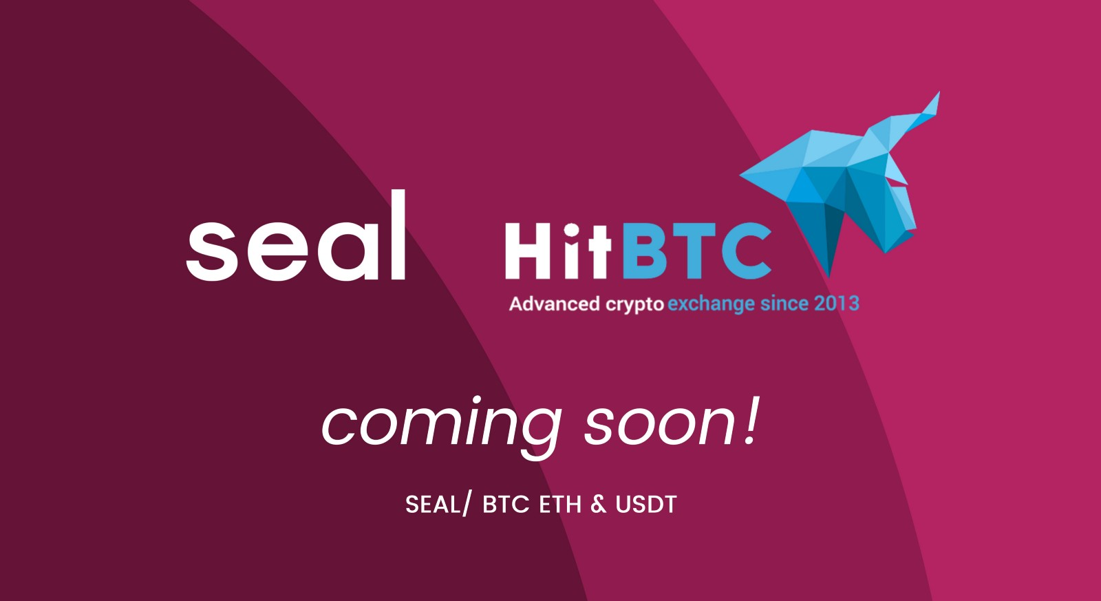Seal Will Be Listed On HitBTC