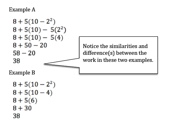 Teaching Order Of Operations Through The Relationships Of The Operations