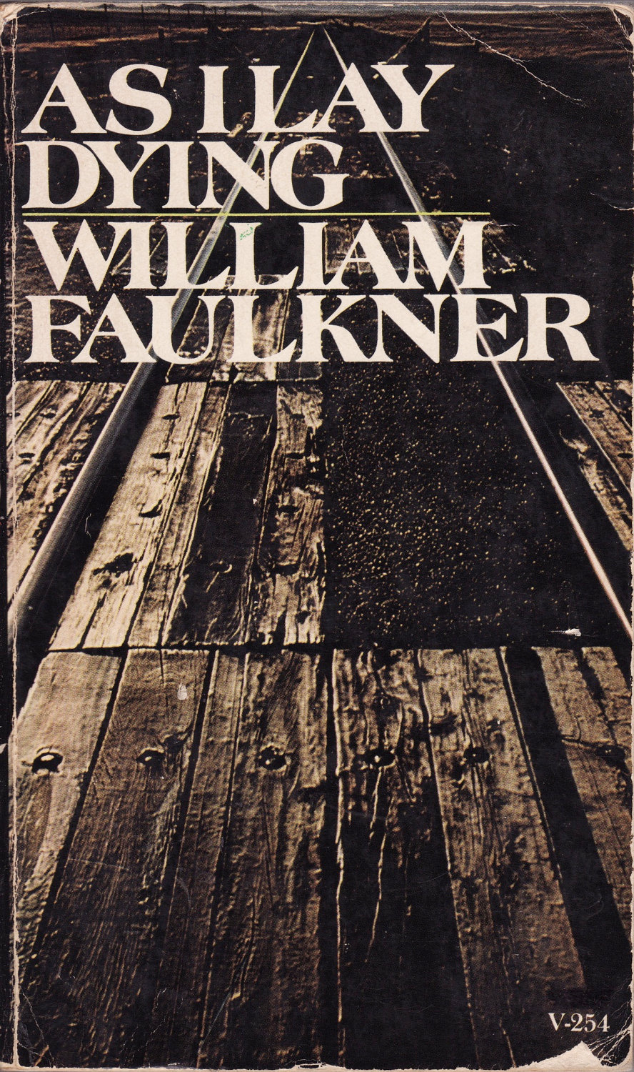 an analysis of the symbolical biography of william faulkner in the novel as i lay dying After the hard work of producing a novel or short story william faulkner's critical reception 53 short biography, the private world of william faulkner.