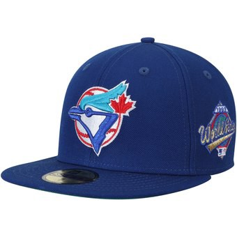 cheap for discount 0783a fa7bf Men s Toronto Blue Jays New Era White Royal 2019 Spring Training 59FIFTY  Fitted Hat