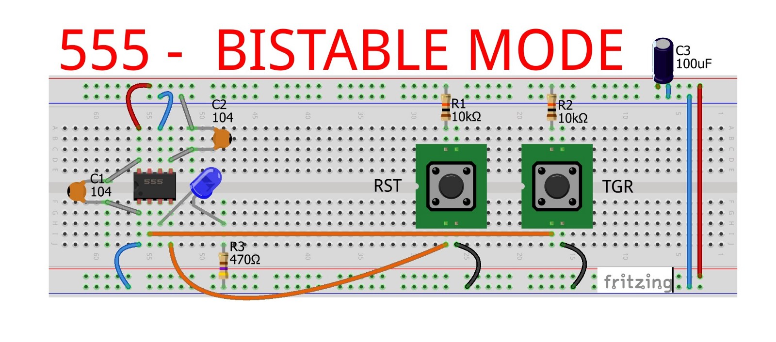 555 Ic Bistable Mode Jungletronics Medium Step 7 Timer Astable Duty Cycle Fritzing Project Are Available Too Google Drive Below