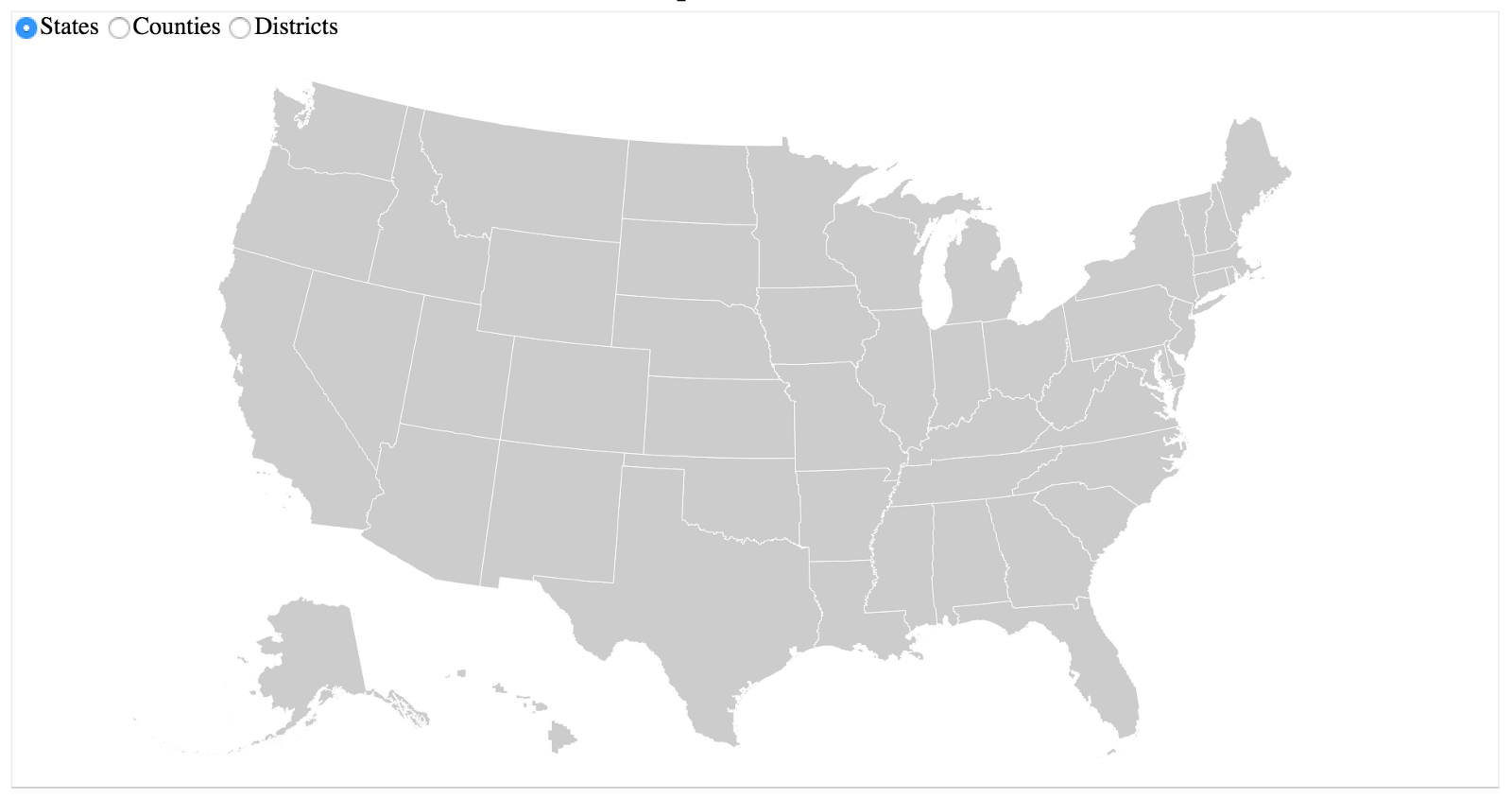 Building A US Election Basemap With Djs And TopoJSON - Us census zip code lookup