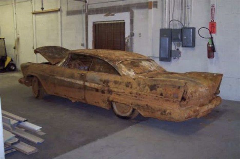 Buried Alive: Two Cars Famous for Their Time Underground