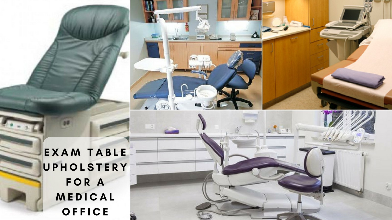 Reduce Costs With Exam Table Upholstery For A Medical Office