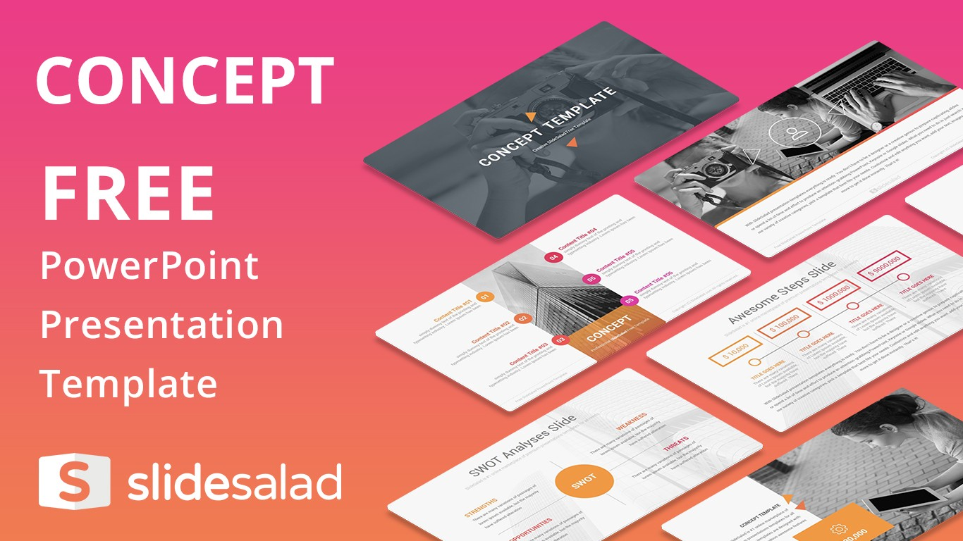 best free powerpoint templates and google slides themes from slidesalad. Black Bedroom Furniture Sets. Home Design Ideas