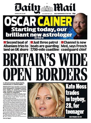 Iceberg Right Ahead! The Case For A Second Brexit Referendum Daily Mail Uk