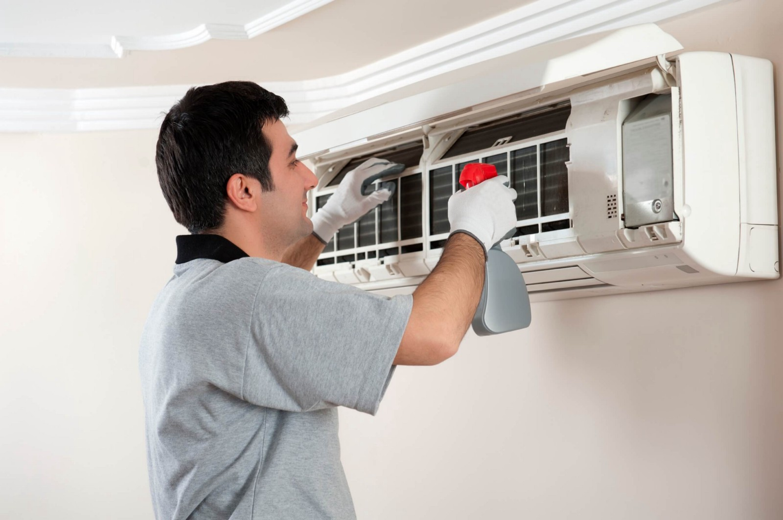 How to clean the air conditioner 34